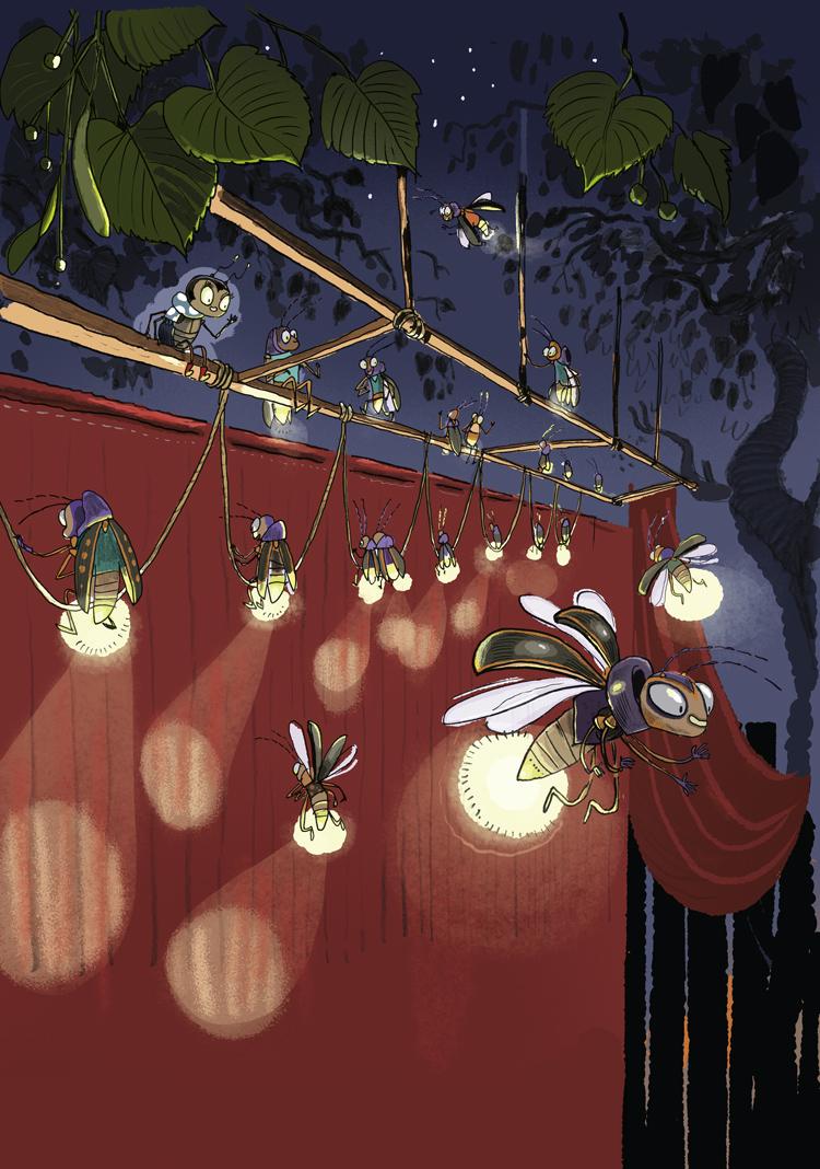 Luna-das-Supertalentier-Lichtprobe
