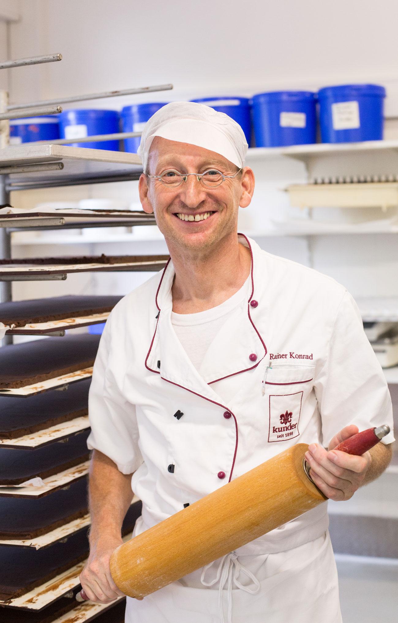 Rainer Konrad LIEBT Schokolade.